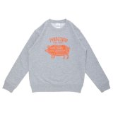 PORKCHOP GARAGE SUPPLY (ポークチョップガレージサプライ) PORK FRONT SWEAT for Kids P-20