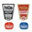 画像2: PORKCHOP GARAGE SUPPLY (ポークチョップガレージサプライ) FINEST STICKER SET  (2)