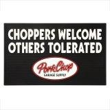 "PORKCHOP GARAGE SUPPLY (ポークチョップガレージサプライ) WELCOME RUBBER MAT ""CHOPPERS"""