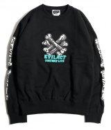 EVILACT (イーヴルアクト) W.C. Bone Sweatshirt