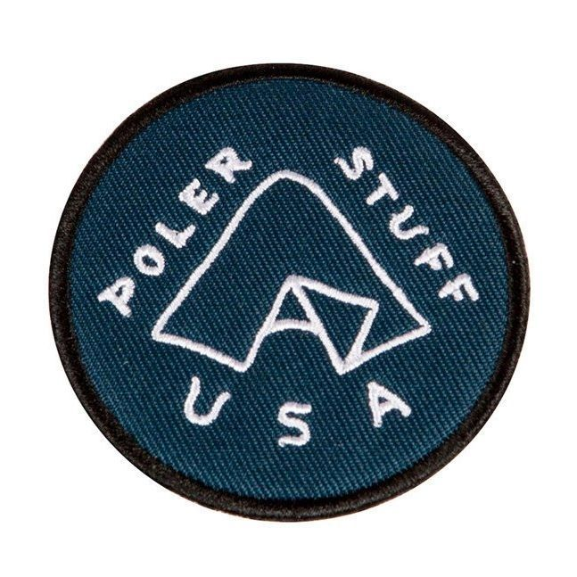 poler ポーラー iron on patches tent 通販